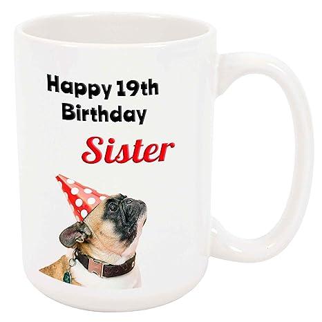 Amazon Happy 19th Birthday Sister