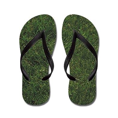 68adf7e91274 CafePress - Grass - Flip Flops