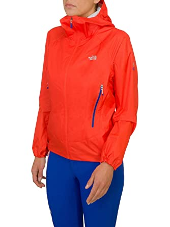 65b32f114c The north face - THE NORTH FACE - Veste 3eme couche Femme - Verto Storm  Jacket Rouge - tailles: S: Amazon.co.uk: Clothing