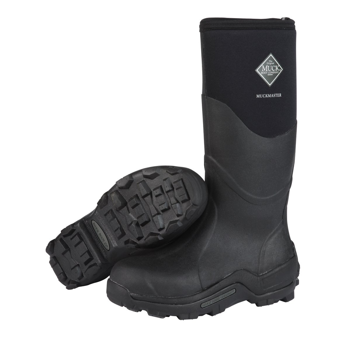 The Original MuckBoots Adult Muckmaster Hi-Cut Boot,Black,15 M US Mens/16 M US Womens