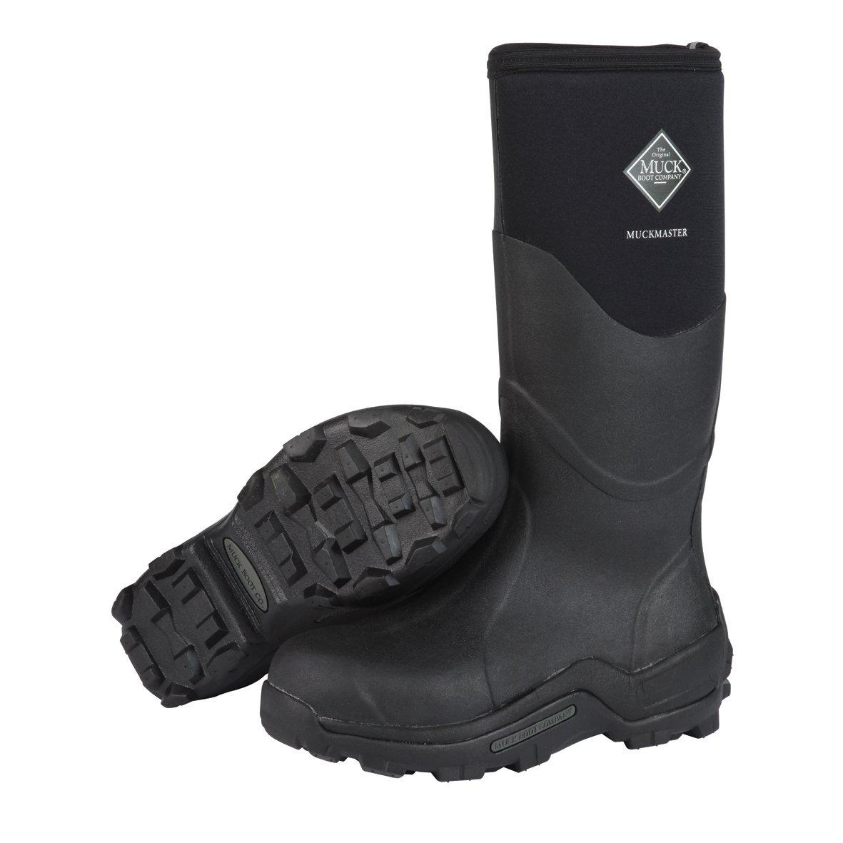 Muck Boot Adult MuckMaster Hi-Cut Boot B000WG663W Men's 9 M/Women's 10 M|Black