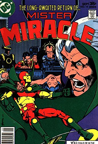 Mister Miracle (1971 series) #19