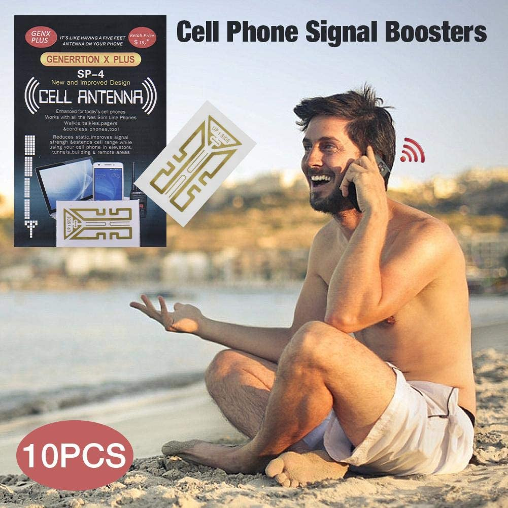 SP-4/Antenna Signal Reception Boosters for Cell Phones Tablets Pagers PDAs Walkie Talkies Cordless Home Phones N//G .30 Pcs Cell Phone Signal Booster Sticker