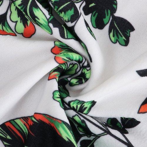 Donne Amore Stampa Di Da Dell'anca Floreali Vestito Gonna Del Senza Verde Di Il Spalline Cotone Pacchetto Formato Partito Delle Più Sposa rOqwr8fXE