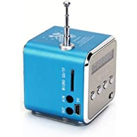 Portable Mini Stereo FM Radio MP3 Speaker Music Player Support Micro SD