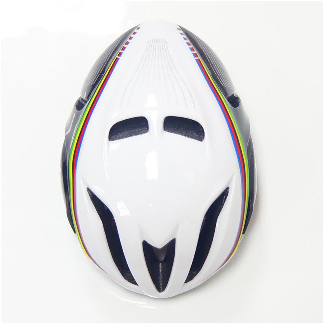 Amazon.com : Mens Bicycle Cycling Helmet Cover Cascos Ciclismo Mtb Capaceta Bicicleta Road Bike Integrall Casco Bici SW white red L : Sports & Outdoors
