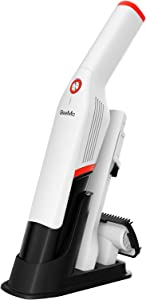 GeeMo Handheld Vacuum Cleaner, Hand Vacuum 14KPA Powerful Suction Brushless Motor, Cordless Handy Vac with Storage Stand Multi-attachments for Home Car Cleaning Lightweight G12