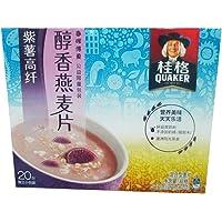 桂格醇香燕麦片紫薯高纤540g