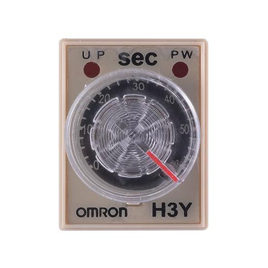 XCSOURCE® H3Y-2 220VAC Relé de retardo de 8 pines Control de temporizador de estado sólido 60 segundos DPDT con base de zócalo BI600: Amazon.es: Bricolaje y ...