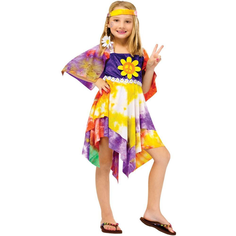 sc 1 st  Amazon.com & Amazon.com: HIPPIE TIE DYE CHILD 12-14: Clothing