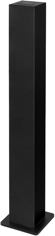 Innovative Technology Slim Tower Bluetooth Speaker, 8-Inch Tall , Black