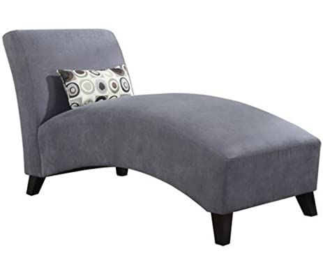 Modern Chaise Lounge Chair - This Polyester Microfiber Upholstered Lounger Is Perfect for Your Home or  sc 1 st  Amazon.com : office chaise lounge - Sectionals, Sofas & Couches