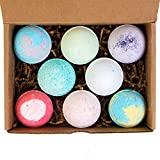 All-Natural Lush Organic Bath Bomb Spa Gift Set (8-pack) - EcoHome Naturals