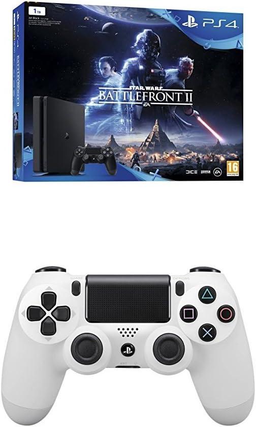 PlayStation 4 (PS4) - Consola 1 TB + Star Wars Battlefront + ...
