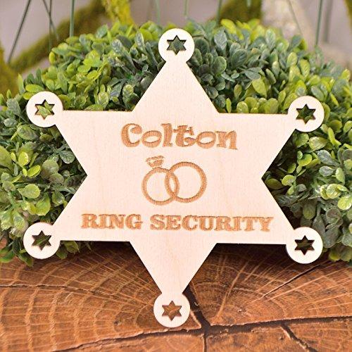 Ring Security Badge Ring bearer badge Ring bearer gift]()