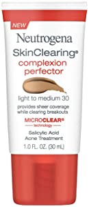Neutrogena Skinclearing Complexion Perfector, Light-Medium, 1 Ounce