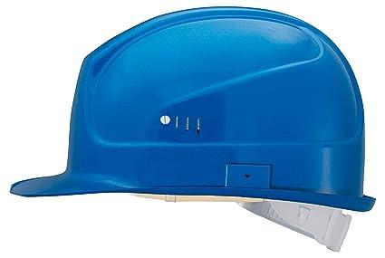 Uvex Casco de protección 9750 Super Boss de polietileno, color: azul
