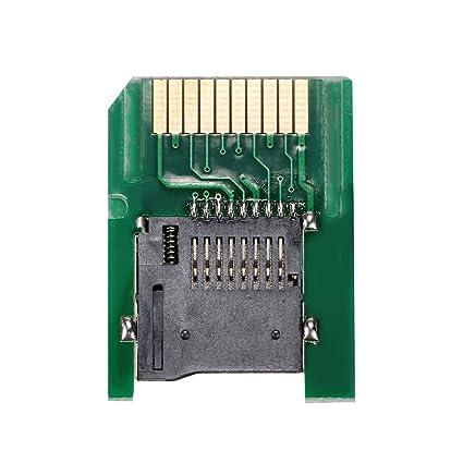 Cewaal Adaptador de tarjeta de memoria SD SD2VITA Micro SD ...