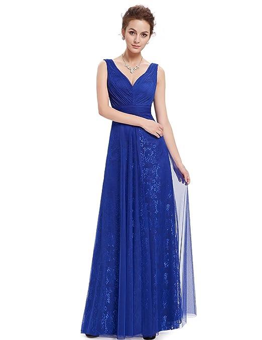Ever Pretty - Vestido - corte imperio - para mujer: Amazon.es: Ropa y accesorios