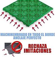 ANTIHUMEDADES Loseta ventilada para Suelos de Piscina, duchas de Jardin, baños, vestuarios y terrazas - 30x30cm: Amazon.es: Jardín