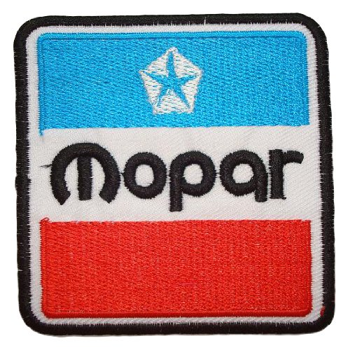 Mopar Parts Jeep Iron on Patch