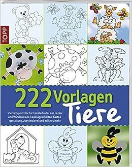 222 Vorlagen Tiere Vielfältig Nutzbar Für Fensterbilder Aus