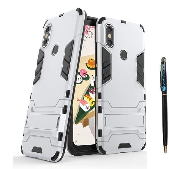 Xiaomi Mi A2 Lite Hybrid Case DWaybox 2 in 1 Hybrid Heavy Duty Armor Hard  Back Case Cover with Kickstand for Xiaomi Mi A2 Lite/Redmi 6 Pro 5 84 Inch