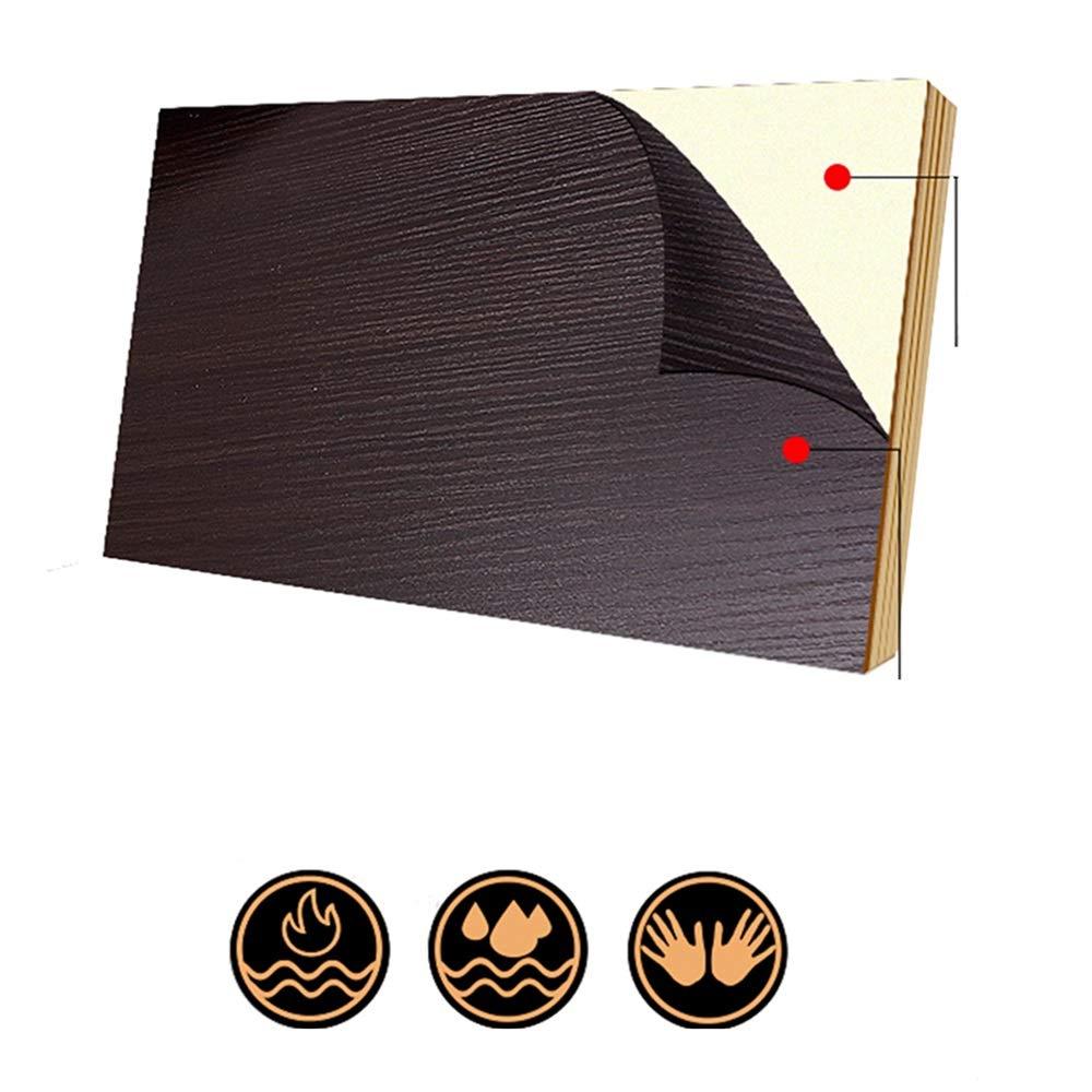 Brown WANG Tavoli Legno solido Tavolino di servizio pu/ò essere utilizzato for Comodino divano a leggere struttura del metallo//Comodino//Sofa Table Telefono Ping
