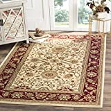 Cheap Safavieh Lyndhurst Collection LNH212K Traditional Oriental Ivory and Red Area Rug (5'3″ x 7'6″)