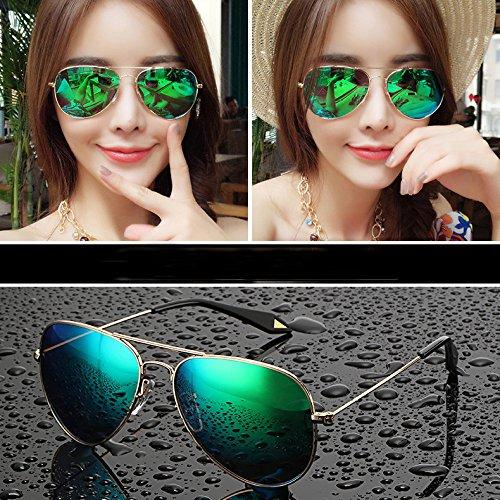Sol 5cm Marea polarizadas para Gafas Gafas Individuales verde Ojos Mujeres Sol de 5 de Gafas Rosado Ojos 14 8 Redondos WWF qIHwp41xEx