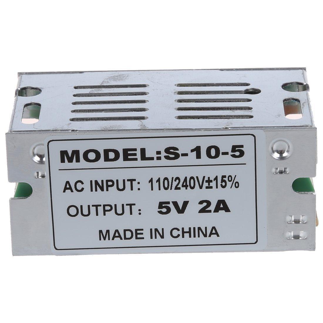 AC 110-240V a DC 5V Commutation transformateur dalimentation Convertisseur S-A10-05 R TOOGOO