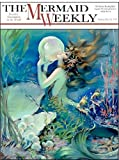 Mermaid Weekly Metal Sign: Surfing and Tropical Decor Wall Accent, Vintage Advertising by OMSC