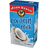 Ayam Brand Coconut Milk | 100% Natural | High Quality | Halal & Healthier Choice | Great Taste | 100% Fresh Ripe Coconuts | Plant-Based Milk | Non-Dairy | No Preservatives or Additives - 1000ml