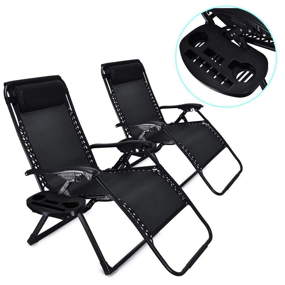Awe Inspiring Amazon Com Wegi King 2Pcs Portable Folding Lounge Chair Ncnpc Chair Design For Home Ncnpcorg