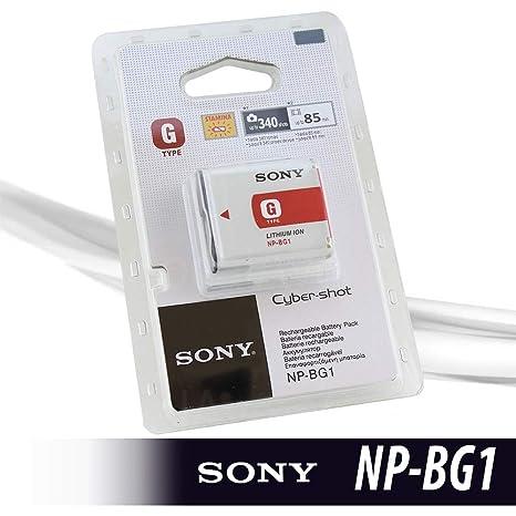 Sony NP-BG1 NPBG1 - Batería de Ion de Litio Tipo G para cámara ...
