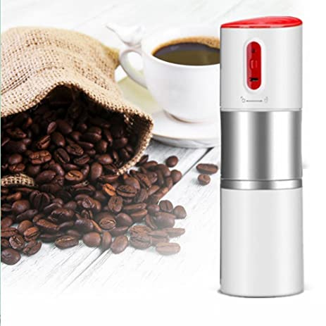 Amazon Electric Coffee Grinder USB Rechargeable Portable