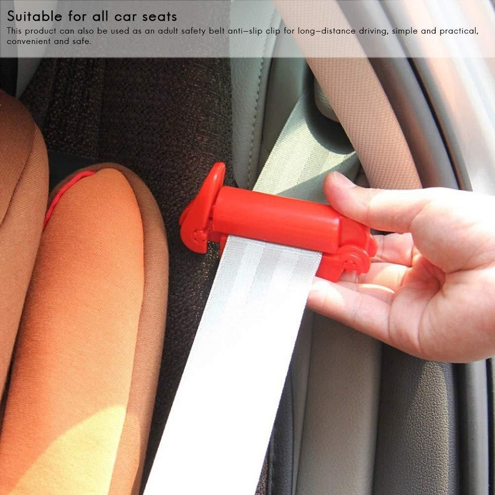 Regolatore per Cintura di Sicurezza per Auto Fibbia per Cintura di Sicurezza Fibbia per Cintura Fibbia per Bambini Cinghia Antiscivolo per Sicurezza per Bambini