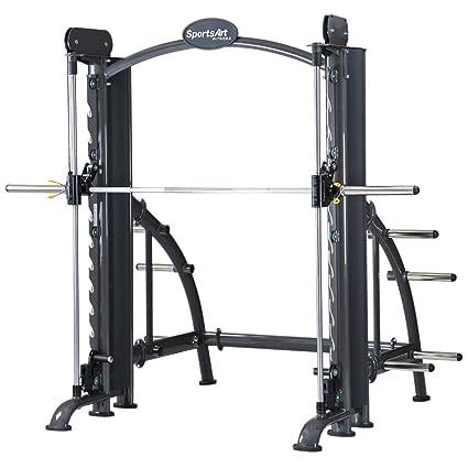 Amazon com : SportsArt A983 Smith Machine : Exercise