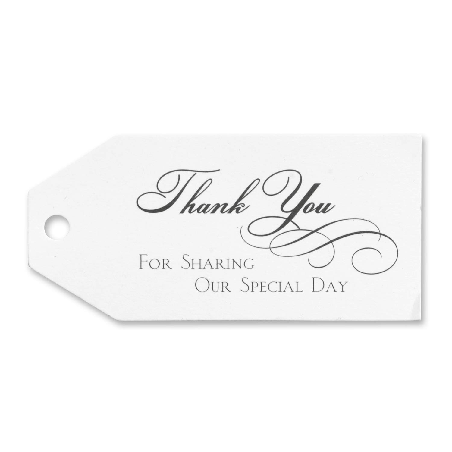 19pk Thank You Favor Cards-Favors by Carlson Craft (Image #1)