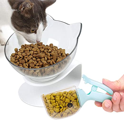 Bangcool - Cuenco de alimentación para gatos, cuenco de agua para ...