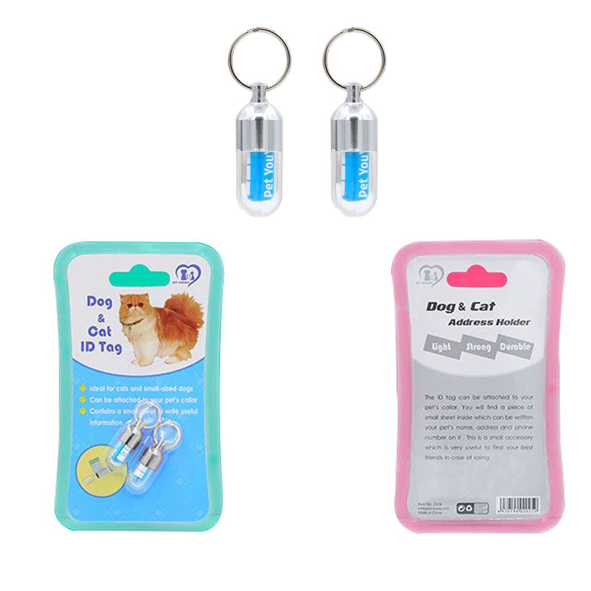amazon com esun light weight pet id tags for dog cat collars
