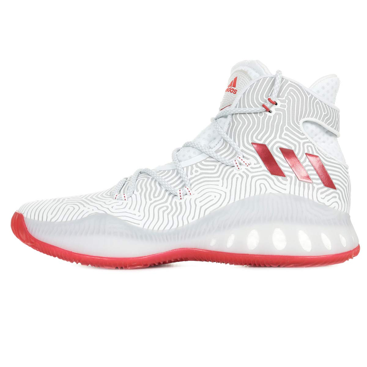 new arrival 5fa1a 16104 adidas Performance Crazy Explosive BB8342, Trainers White Amazon.co.uk  Shoes  Bags