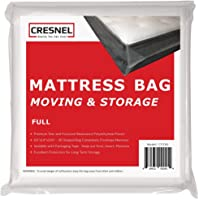 CRESNEL Mattress Bag for Moving & Long-Term Storage - Full Size - Enhanced Mattress Protection with 5 mil Super Thick…