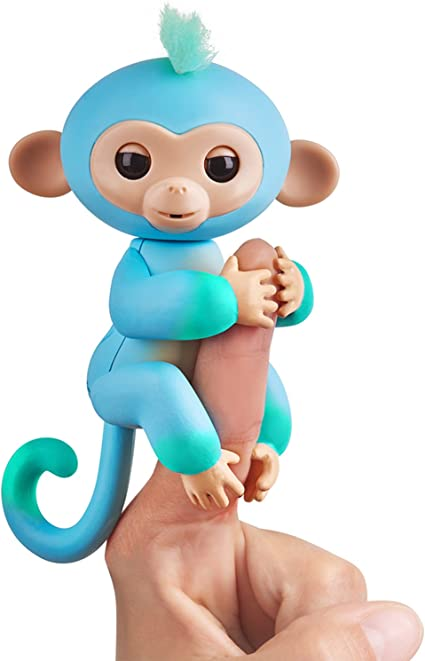 Fingerlings WowWee Baby Monkey Charlie Ombree Figure AUTHENTIC Same Day Shipping