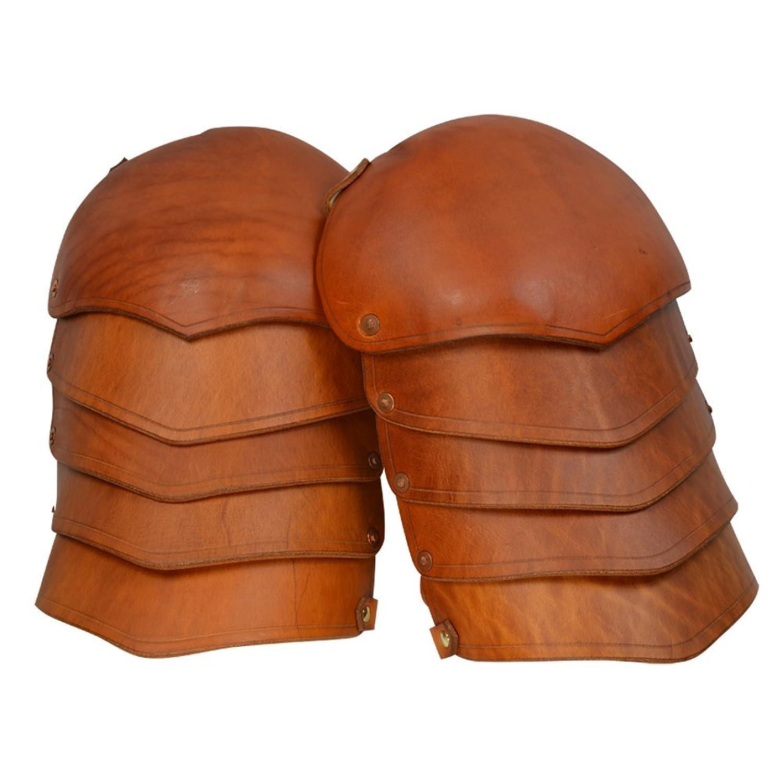 Armor Venue: Molded Leather Spaulders Shoulder Armour