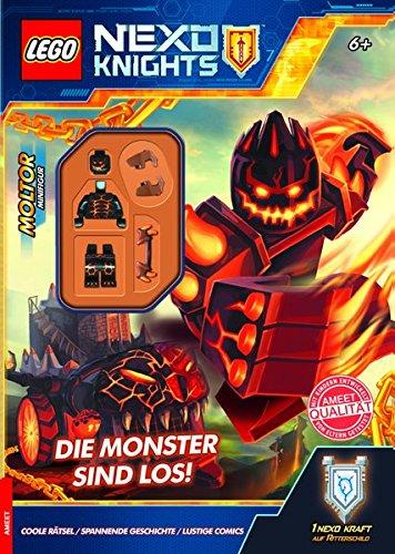 LEGO® NEXO KNIGHTS™ Die Monster sind los!: Rätselbuch mit Minifigur
