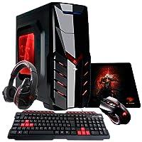 PC G-FIRE AMD A10 9700 8GB 1TB Radeon R7 2GB integrada Computador Gamer GKN HTG-251
