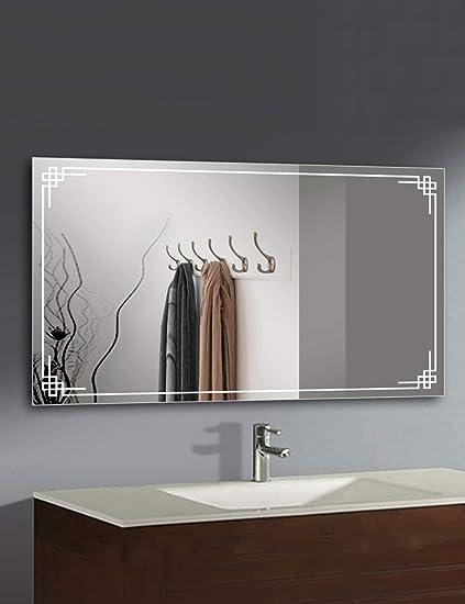 Specchio Grande Da Bagno.Specchi Da Bagno Semplice Specchio Da Parete Specchio Bagno Appeso A