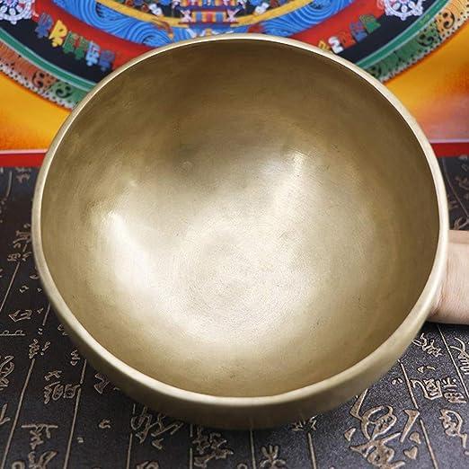HAIHF Cuenco Tibetano,Tazón de Fuente nepalí Sonido Cuenco ...