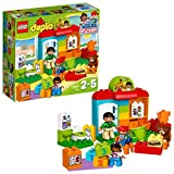 LEGO DUPLO 10833 Nursery School Building Kit, Preschool Construction Toy, Play Set for Toddlers